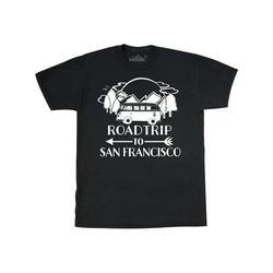 Inktastic Road Trip To San Francisco Adult T-Shirt Male Black XXL
