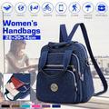 JOSEKO Nylon Women Backpacks Casual Lightweight Strong Fashion Backpacks Rucksack Daypack HandBag for Women Lady Girl Teenager