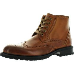 Arider Bulk-1 Men's High-Top Lace Up Side Zipper Ankle Booties Casual Shoes