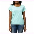 Puma Ladies Keyhole Short Sleeve Tee, light Green , Size M