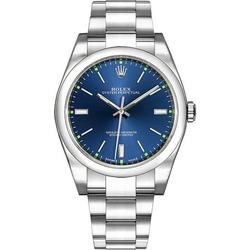 Rolex Oyster Perpetual 39 114300 Blue Dial Men's Watch