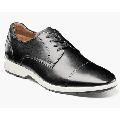 Florsheim Transit Cap Toe Oxford Men's Casual Shoes Black White 15189-111