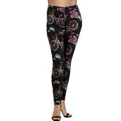 LAVRA Women's Plus Size Graphic Print Fashion Leggings