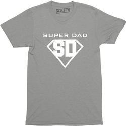 Super Dad My Dad My Hero Father Day Birthday Gift Present Daddy Tee Shirt