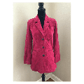 Denim and Co. Washable Suede Button Front Jacket with Pockets, Size S, $96