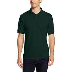Hanes Men's 5.2 oz Hanes STEDMAN Blended Jersey Polo (Pack of 2) 2 Deep Forest