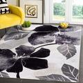 Red Barrel Studio® Lio Modern Floral Area Rug - Non Slip Large Flower Carpet For Indoor Rugs - Living Room, Bedroom, Kitchen & Hallway Mats   Wayfair