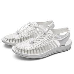 Men Beach Shoes Weaving Sandals Outdoor Summer Casual Shoes Roman Sandals New Shoes