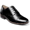 Nunn Bush Fifth Ward Flex Cap Toe Oxford Shoes Black Dressy 84816-001