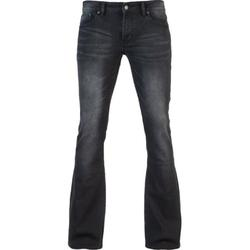 Men's Fashion Jeans Boot Cut Leg Slightly Flared Slim Fit Jeans Fashion Male Jeans Designer Classic Washed Denim Jeans