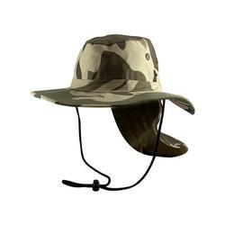 Top Headwear Safari Explorer Bucket Hat Flap Neck Cover - Desert Camo