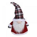 The Holiday Aisle® 26 Inch Christmas Tree Topper Gnome Swedish Tomte Gnome Christmas Ornaments Santa Gnomes Plush Scandinavian Christmas Decorations Holiday Home Decor