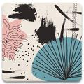 Ivy Bronx Modern Silhouettes Iv Tabletop Art Drink Coasters Set Of Four Ceramic, Size 1.0 H x 4.25 D in | Wayfair 5CE92BDB467F456781E40514A0522617
