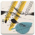 Ivy Bronx Modern Silhouettes Iii Tabletop Art Drink Coasters Set Of Four Ceramic, Size 1.0 H x 4.25 D in | Wayfair DB0332C438F3481E9970423FB5AA119B