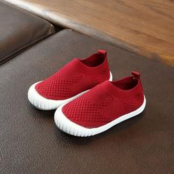 children\'s casual shoes New boys and girls shoes candy color non-slip wear-resistant breathable one foot single shoes