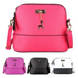 TSV Messenger Crossbody Bag Handbag for Women - PU Leather Women Handbag - Womens Shoulder Bag Top Handle Fashion Pocketbook Ladies Leather Satchel Tote, Adjustable Shoulder Strap