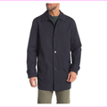 $295 Cole Haan ,Button Front Jacket, NAVY, Size M