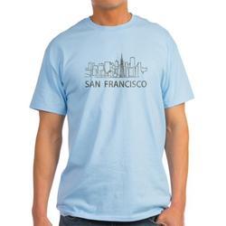 CafePress - Vintage San Francisco - Light T-Shirt - CP