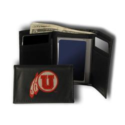 Utah State Aggies NCAA Embroidered Trifold Wallet