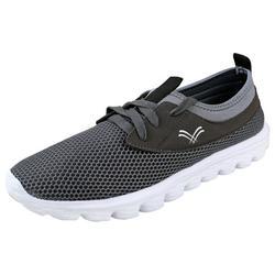 Urban Fox Men's Breeze Lightweight Shoes Lightweight Shoes for Men Casual Shoes Walking Shoes for Men Grey/White 12 M US