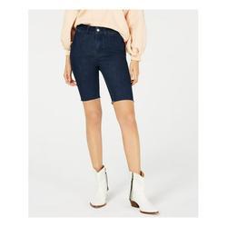 FREE PEOPLE Womens Blue Bermuda Shorts Size 27 Waist