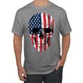 Cracked American Flag USA Skull Americana / American Pride, patriotic Shirt, American Shirt, Patriotic Shirt, fourth of july shirt, American Flag, USA Graphic T-Shirt