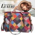 Women Large Capacity Handbag Crossbody Bag Shoulder Bag Satchel Messenger Bags PU Leather Vintage Fashionable