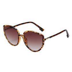 Retro Cat-Eye Big Frame Sunglasses Eyewear Vintage Polarized Cat Eye Sunglasses for Women