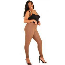 LAVRA Women's Plus Size High Waist Denim Legging Jegging Slim Fit Stretchy
