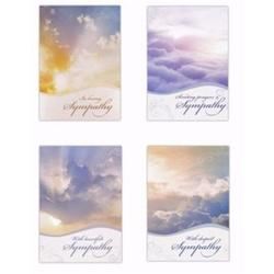 Heartland Wholesale 138324 Card-Boxed - Sympathy-Beyond the Clouds - Box of 12