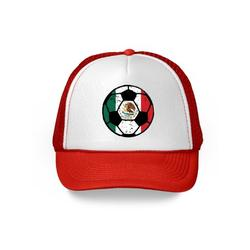 Awkward Styles Mexico Soccer Ball Hat Mexican Soccer Trucker Hat Mexico 2018 Baseball Cap Mexico Trucker Hats for Men and Women Hat Gifts from Mexico Mexican Baseball Hats Mexican Flag Trucker Hat