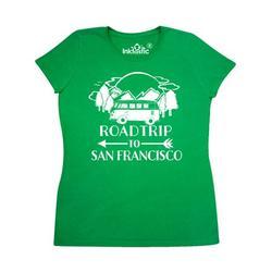 Inktastic Road Trip To San Francisco Adult Women's T-Shirt Female Kelly Green XXL