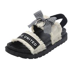 TOYFUNNY Casual Shoes Summer Ladies Sandals Bow Casual Shoes Platform Women s Shoes