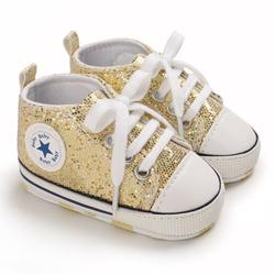 Loalirando Baby Girl Boy First Walkers Bling Casual Shoes