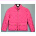 Ralph Lauren Girls' Diamond Quilted Jacket size XL (16) Madison Pink NWT