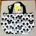 Disney Other   Disney Mickey Tote Insulated Lunch Bag   Color: Black/White   Size: 10.8wide X 3.9depth X 6.5height