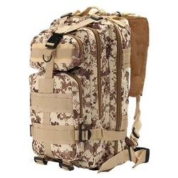 Tactical Military Backpack Rucksack, Molle Bug Out Bag Backpacks for Outdoor Hiking Camping Trekking Hunting 30L