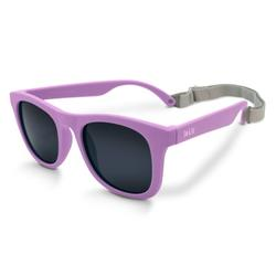 Jan & Jul Baby Sunglasses with Strap for Girls, Polarized, Non-Toxic (S: 6 Months -2 Years, Purple)