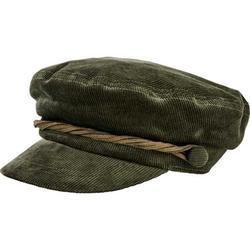 Women's San Diego Hat Company Cord Fisherman Newsboy Cap CTH8163