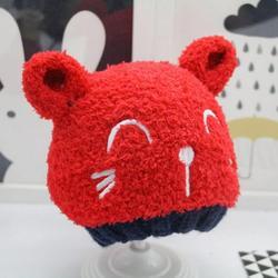 Sebbolt Baby Beanie Hat Infant Winter Warm Snow Hat Toddler Cute Knitted Hat Winter Wool Hat Cute Cat Cartoon Hat