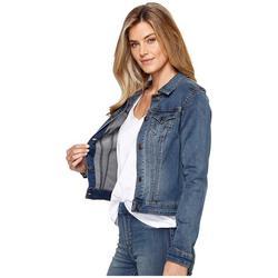 Tribal Dream Jeans Jacket Retro Blue