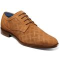 Stacy Adams Radburn Plain Toe Oxford Men's Shoes Tan Suede 25423-244