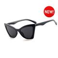 2 Pack Fashion Sunglasses,Vintage Narrow Cat Eye Sunglasses for women