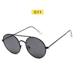 Vintage Retro Round Sunglasses Metal Circle Frame Casual Sunglasses for Men Women New