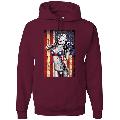 Freedom Marilyn Monroe Sexy Distressed American Flag Americana / American Pride, patriotic Shirt, American Shirt, Patriotic Shirt, fourth of july shirt, American Flag, USA Graphic Hoodie Sweatshirt