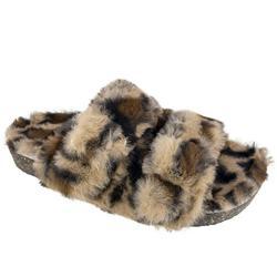 Secret Treasures Luxe Faux Fur Two Band Slide Slipper (Women's)