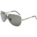 Porsche Design P8678 Aviator Unisex Sunglasses (2 pairs of lenses included)