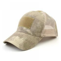 GETFIT Women Mens Baseball Cap Sport Tactical Army Cap Outdoor Sport Snapback Stripe Military Cap Camouflage Hat Simplicity Army Camo Hunting Mesh Cap