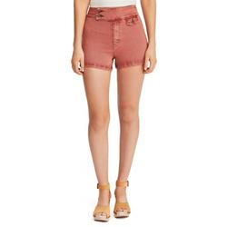 FREE PEOPLE Womens Coral Retro Short Size 24 Waist