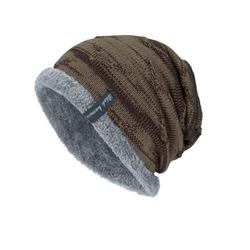 Sunisery Men's Knitted Fleece Cap Winter Warm Baggy Beanie Knit Hat Snow Caps